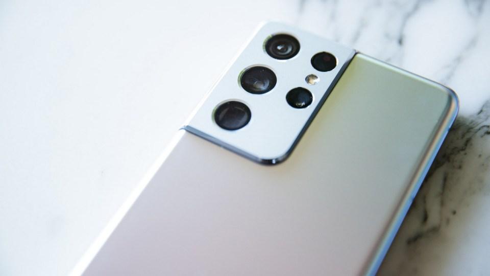 Samsung Galaxy S21Ultra Camera Bump
